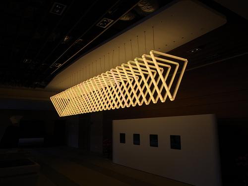 10 meter light show set up