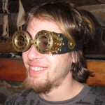 3D Steampunk Goggles 2