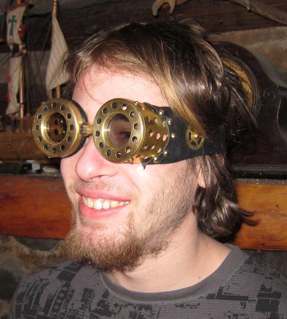 3D Steampunk Goggles 2