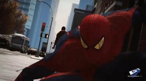 Amazing Spider-Man Game Screen