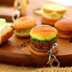Burger Key-Chain