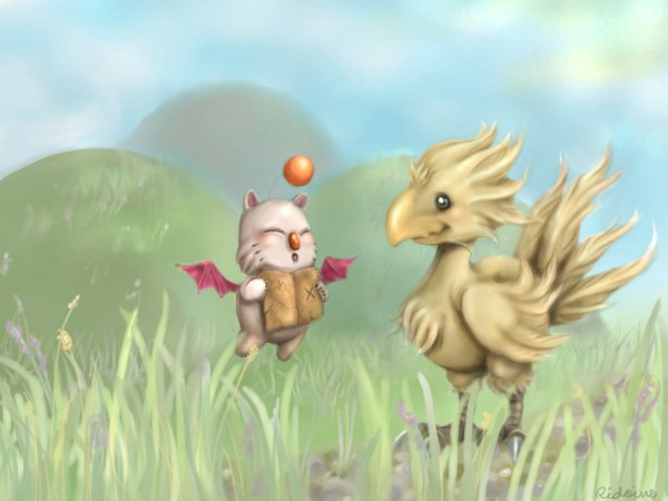 Chocobo_and_Moogle