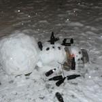Drunk snowman 11