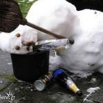 Drunk snowman 3