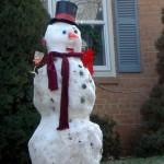 Drunk snowman 6