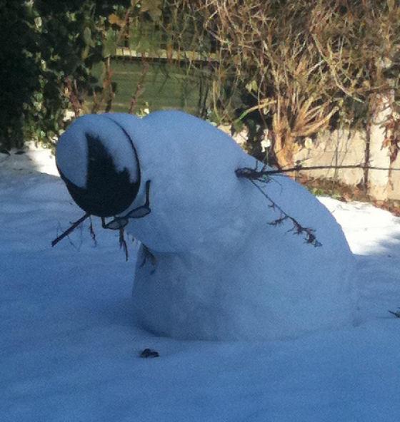 Drunk snowman 7