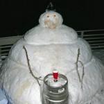 Drunk snowman 9