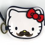Hello Kitty Mustache – Coin Bag