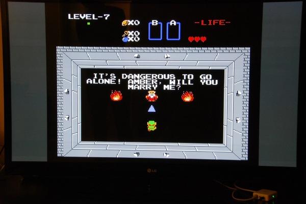Marriage Proposal Zelda Hack 1