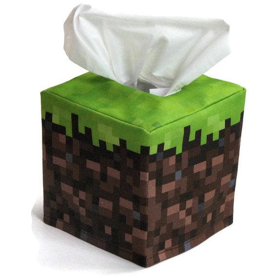 Minecraft-Tissue-Box