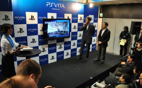 PlayStation Vita Japan Launch Image 1