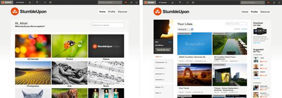 StumbleUpon Channel