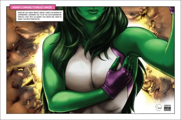 She-Hulk Breast Cancer Awareness