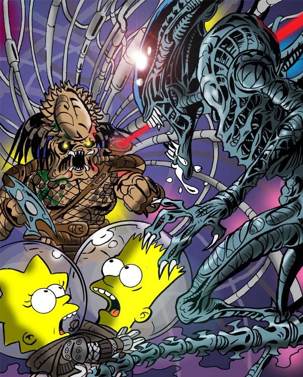Simpsons-Aliens-vs-Predator