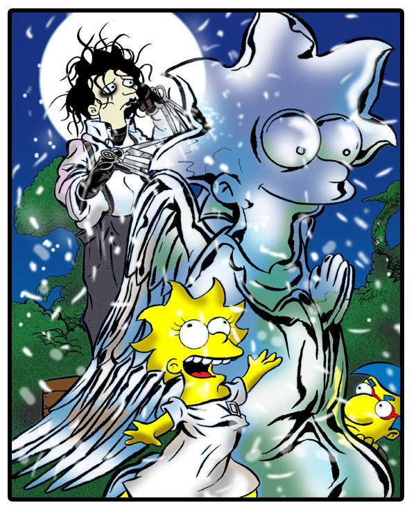 Simpsons-Edward-Scissorhands