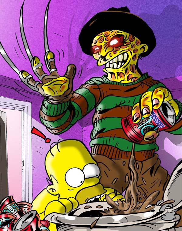 Simpsons-Freddy-Kruger