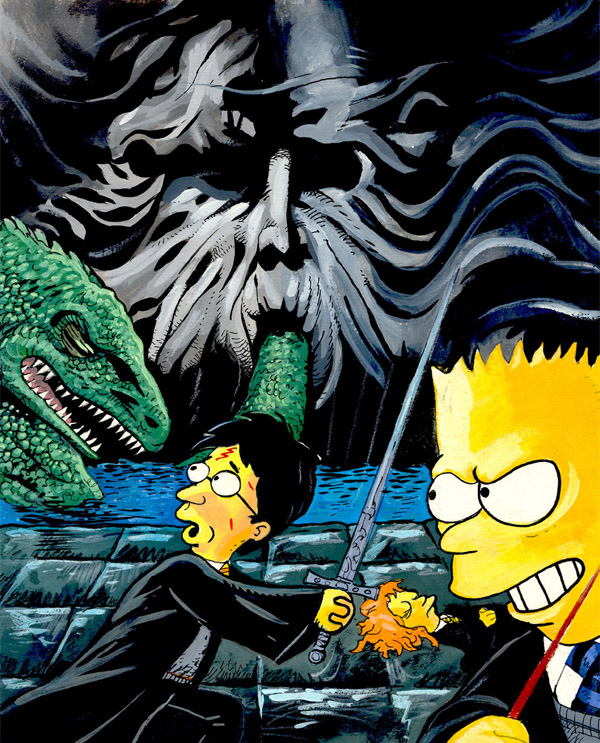 Simpsons-Harry-Potter