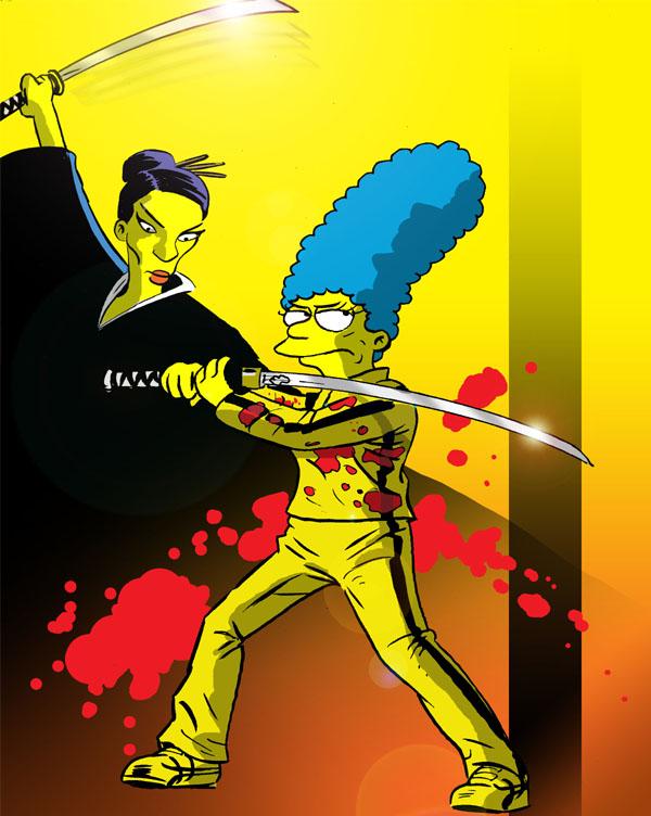 Simpsons-Kill-Bill