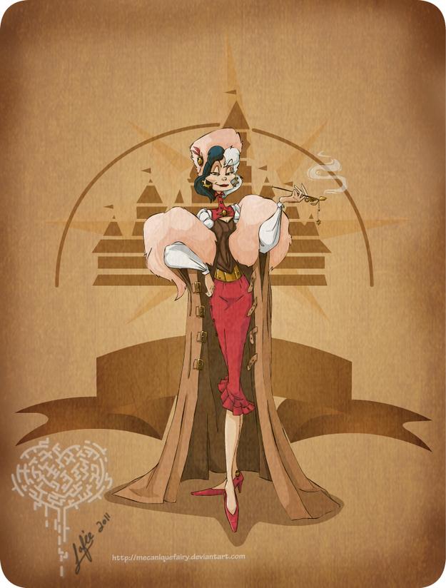 Steampunk-Cruela-Deville