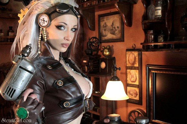 Steampunk-Female-mechanic