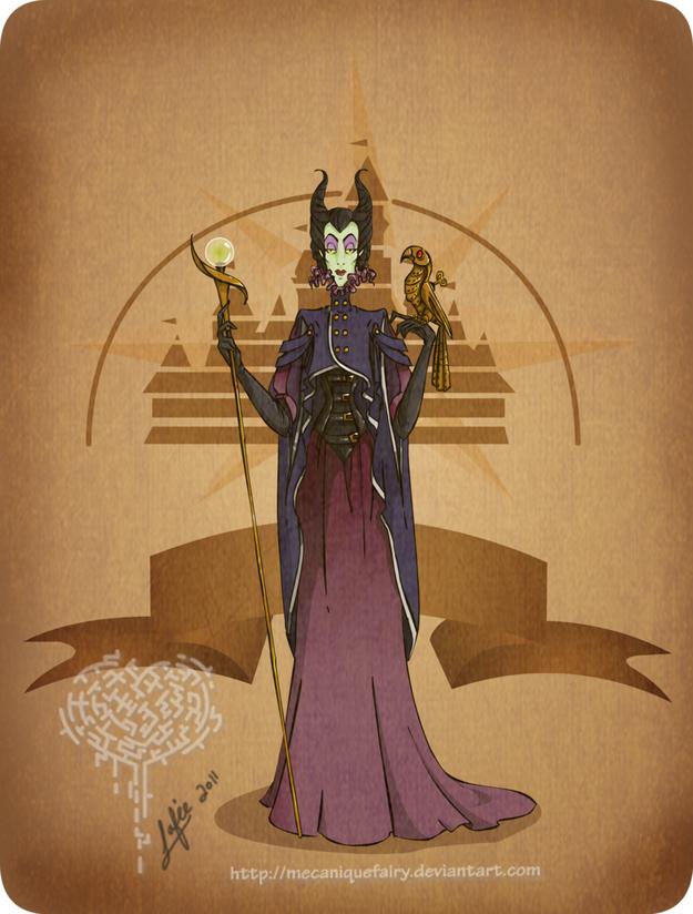 Steampunk-Maleficent
