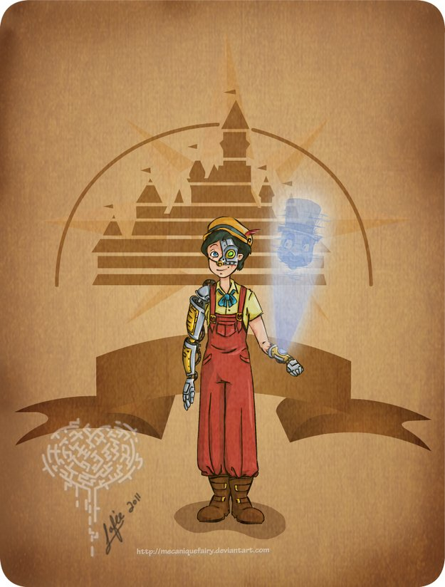Steampunk-Mulan
