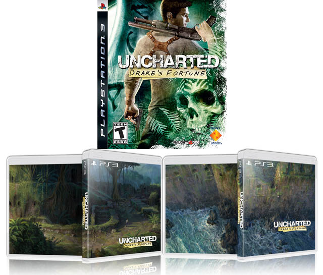 Uncharted Variant Covers