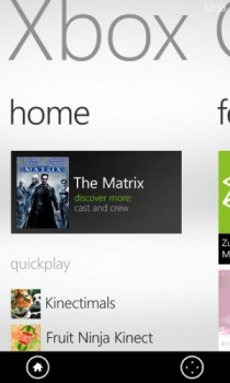 Xbox Companion App for Windows Phone Image