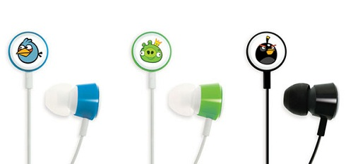angry birds ear plugs phones