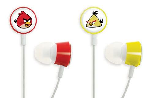 angry birds ear plugs phones