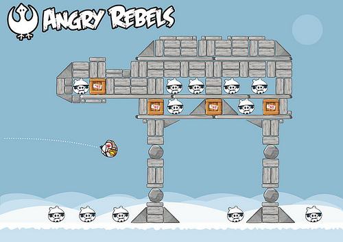 angry rebels at at