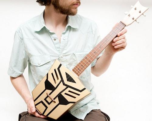autobot ukulele transformer instrument