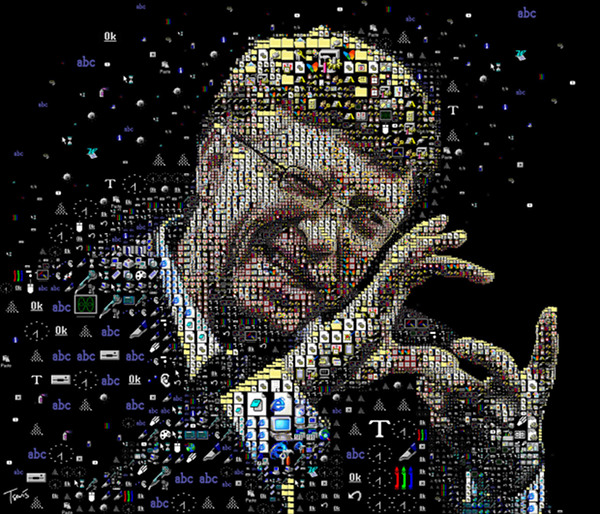 Bill Gates mosaic 2