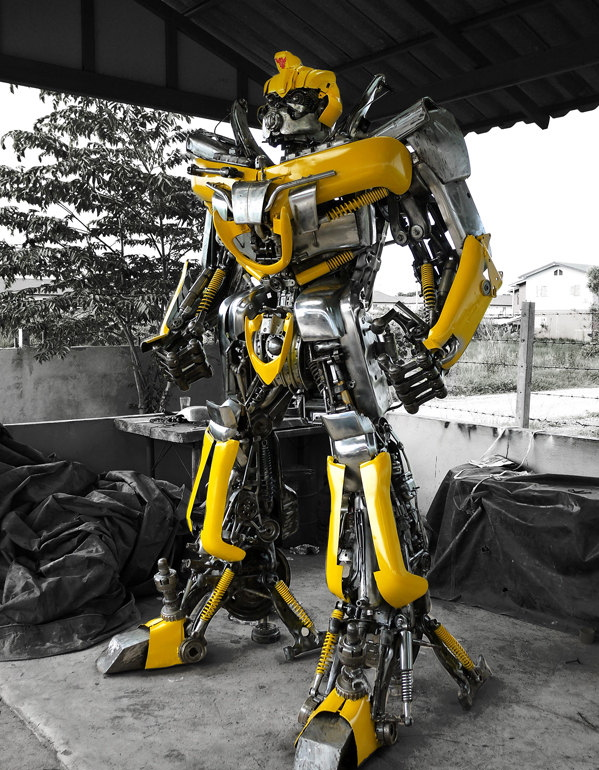 bumblebee-scrap-metal
