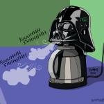 darth vader coffee machine
