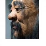 giant confucius face