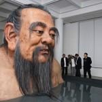 giant confucius statue