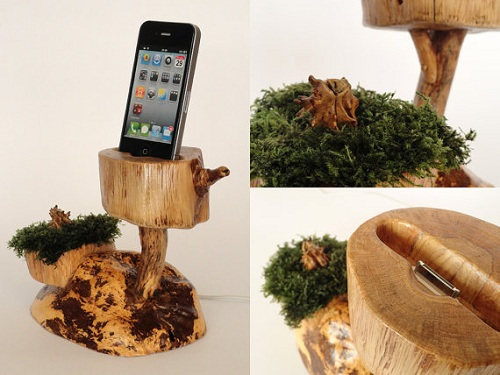 go green with evergreen ipod dock