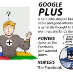 google plus super hero