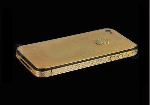 iphone 4gs gold back