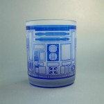 R2-D2 Etched glass front