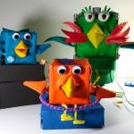 robot angry birds arts