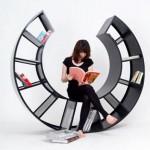 rocking chair book shelf