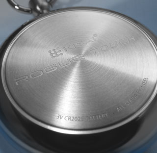 Back of Rogue Touch watch