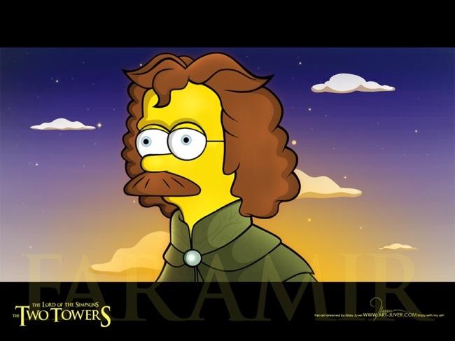 Ned Flanders as Faramir