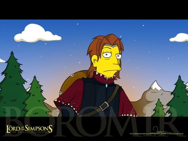 Prinicipal Skinner as Boromir