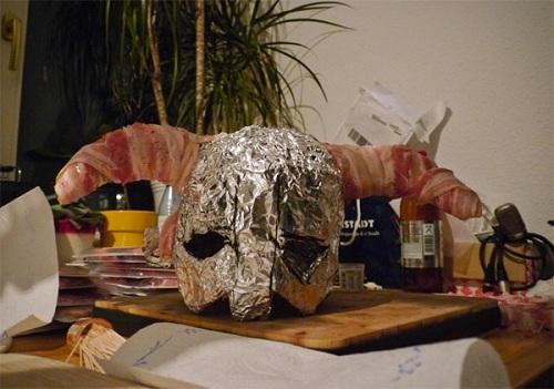 skyrim bacon helmet mould