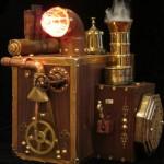steampunk hard drive