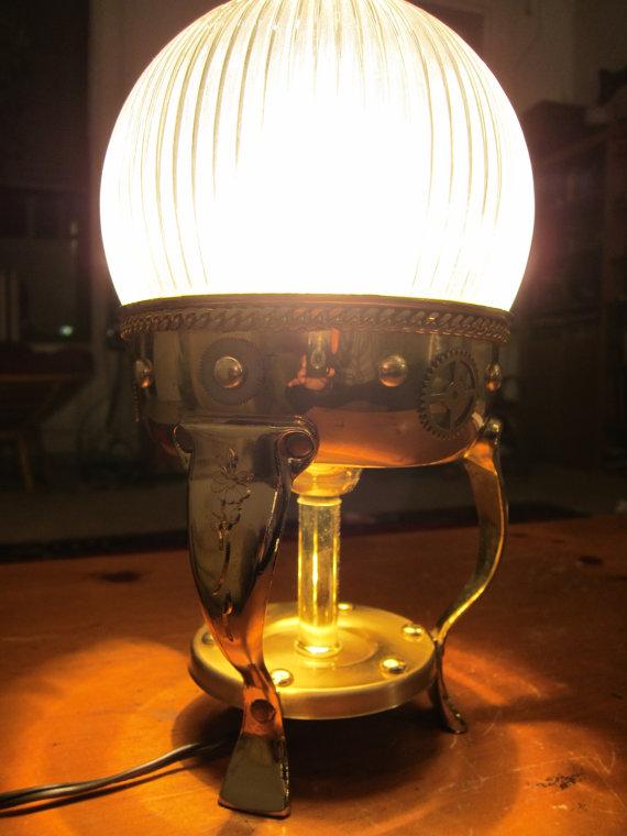 steampunk light