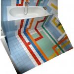 subway washroom tiles
